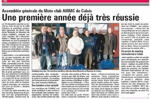 1ER ANNIVERSAIRE DU MOTO CLUB AMMC DE CALAIS