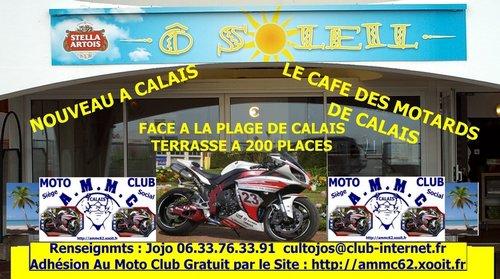 LE NOUVEAU CAFE DES MOTARDS DE CALAIS ET SIEGE SOCIAL DU MOTO CLUB AMMC DE CALAIS