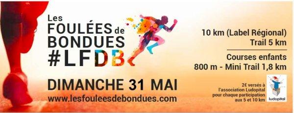 COURSE 07 - LES FOULEES DE BONDUES - 10 KILOMETRES