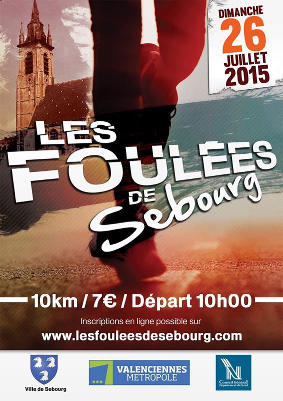 COURSE 10 - LES FOULEES DE SEBOURG - 10 KILOMETRES
