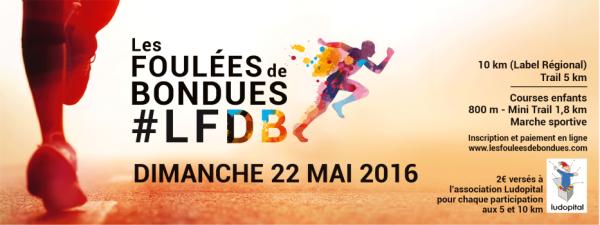 COURSE 09 - LES FOULEES DE BONDUES - 10 KILOMETRES
