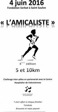 COURSE 10 - L'AMICALISTE - SAINT-SAULVE - 10 KILOMETRES