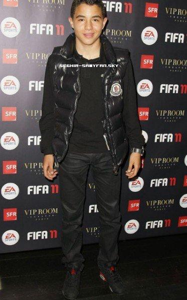 Samy au VIP Room Fifa 2011 !!!