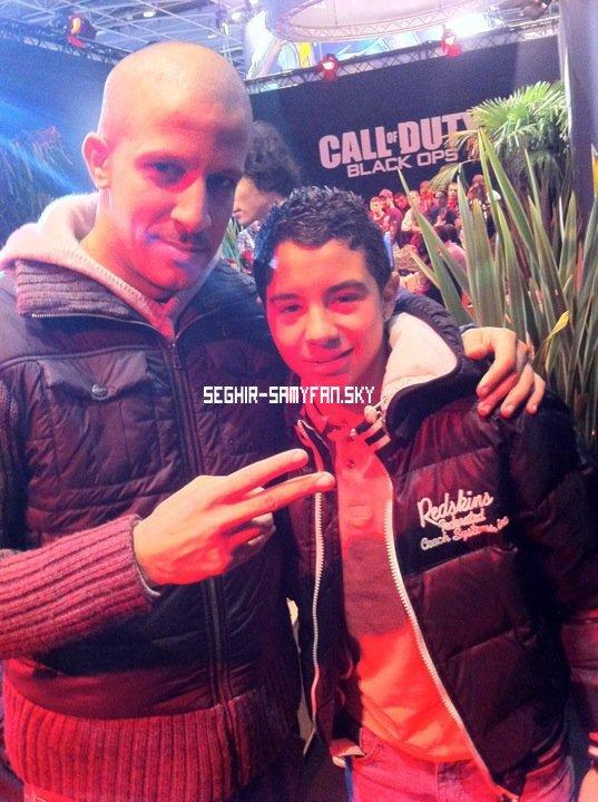 RIM'K et Samy lors du Fifa 2011 VIP ;)))