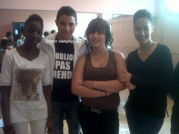 """Samy sur le tournage du clip """"l'insecurite"""" de Sefyu !"""