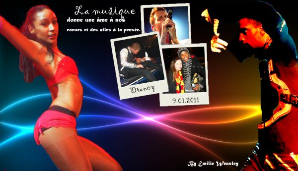 M-Pokora / Drancy / Premier rang / 09.01.2011 / 9h d'attente / Un moment sympa avec Nick ♥