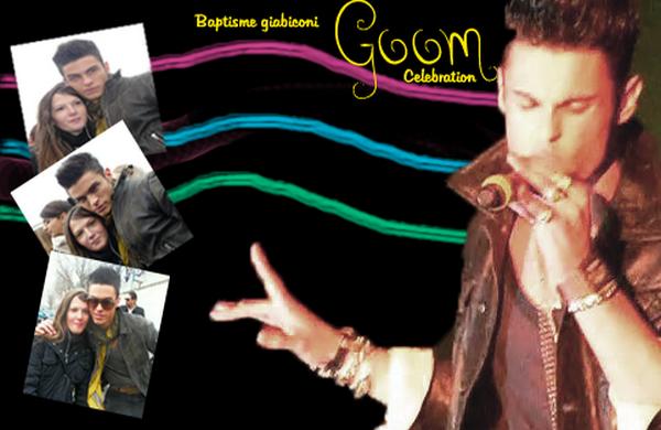 Goom Celebration 2  / Baptiste Giabiconi / 4.02.2011/ Ps : Sorry pour la faute dans la créa j'ai mis un M à baptisme au lieu de baptiste ^^