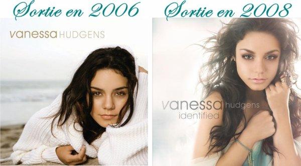 Les deux albums de Vanessa Hudgens