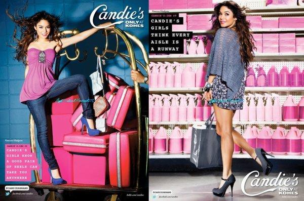 Nessa fait encore des ravages avec ce nouveau shoot pour la collection Automne 2011 de Candie's ...