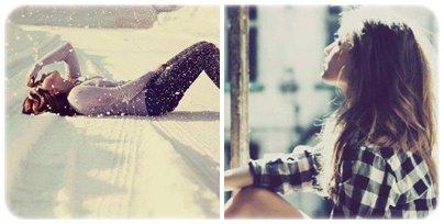 « Une fille, des sentiments, un garçon, l'amour .. »