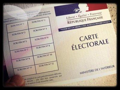 Le sésame pour exprimer son choix, ma première carte électorale :)