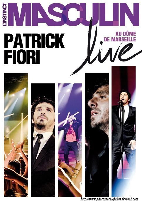 SORTIE CD & DVD DE PATRICK FIORI