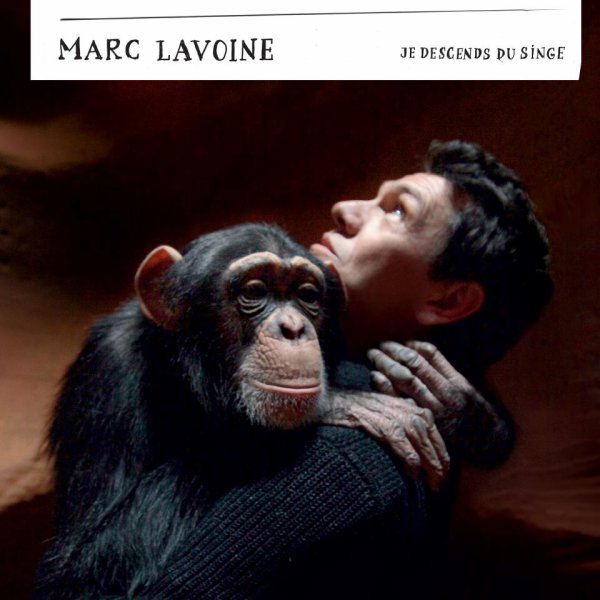 "MARC LAVOINE ALBUM ""JE DESCEND DU SINGE"""