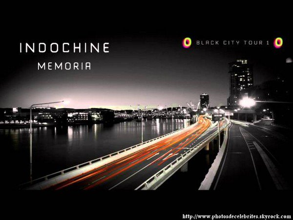 "PAROLES DE L'ALBUM ""BLACK CITY PARADE"" D'INDOCHINE."