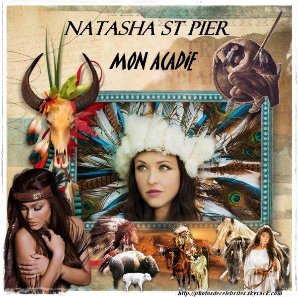 """PAROLES DES TITRES DE L'ALBUM """"MON ACADIE"""" NATASHA ST-PIER"""