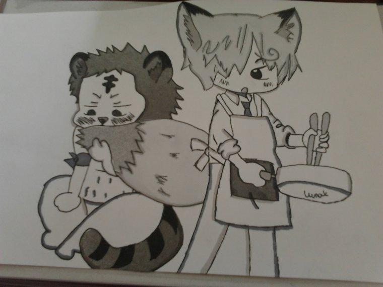 le dessin pour Sanji--X--Zoro