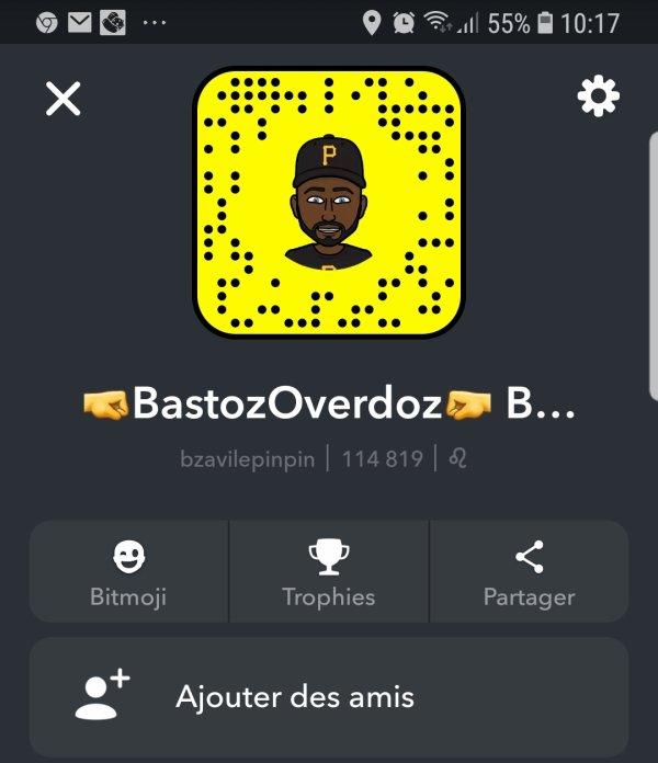 Rejoint Bastoz sur Snap la famax