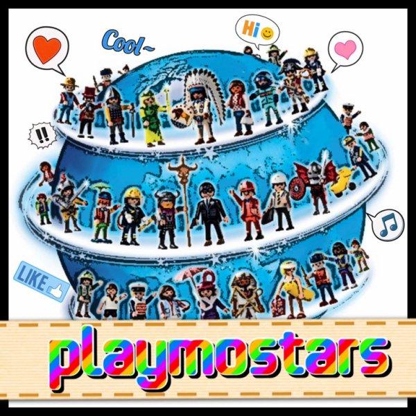 J'ai un deuxième blog : Playmostars !