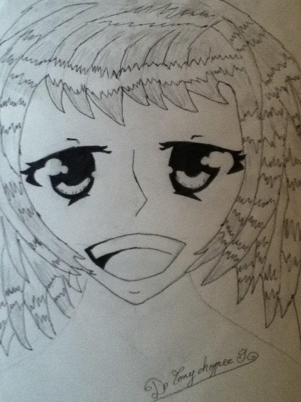 Mes premiers dessins manga!