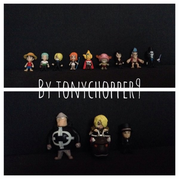 Mes Goodies....One piece!!part.1