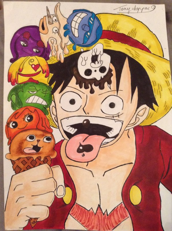 Dessin One Piece !!!