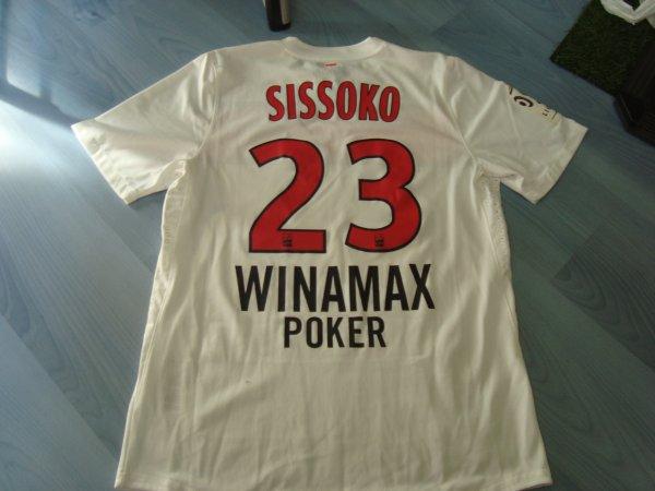 Maillot porté par Mohamed Sissoko au PSG