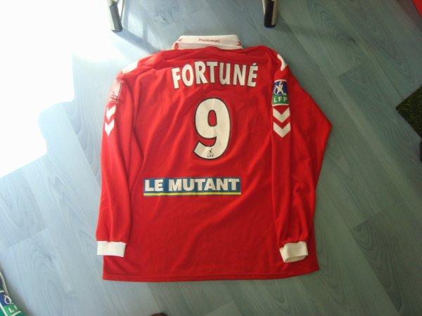 Maillot porté Fc Rouen 1899 en ligue 2 saison 2003 2004 par Marc-Antoine Fortuné