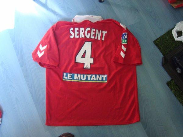 Maillot porté Fc Rouen 1899 en ligue 2 saison 2003 2004 par Stéphane Sergent