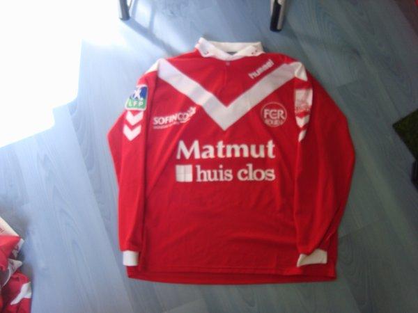 Maillot porté Fc Rouen 1899 en ligue 2 saison 2003 2004 par Fabrice Dorizon