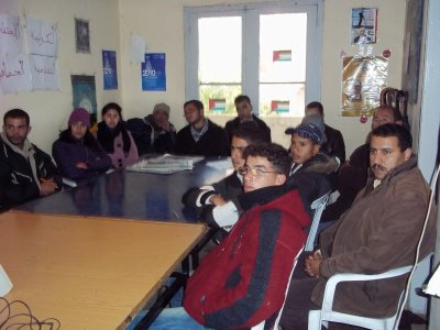 palestine 29 novembre 2010 jeunes AMDH khénifra