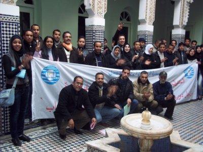 jeunes amdh région khénifra à Meknes le 5 décembre 2010