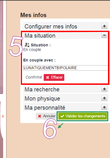 Comment s'afficher en couple, célibataire (...) sur son PROFIL. #SituationSentimental