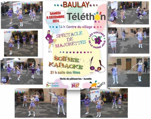 TELETHON DE BAULAY 06 DECEMBRE 2014