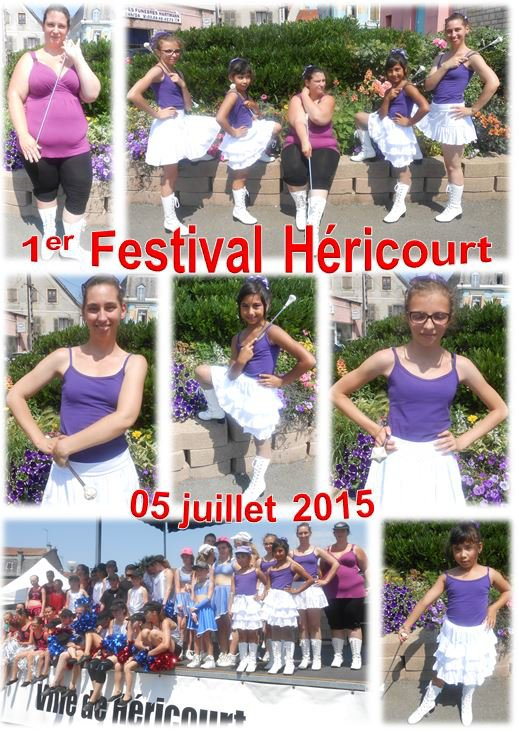 1ER FESTIVAL DES POM POM D'HERICOURT 05/07/2015