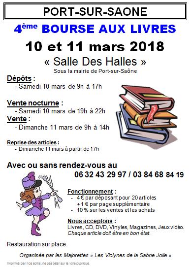 Bourse aux Livres 2018