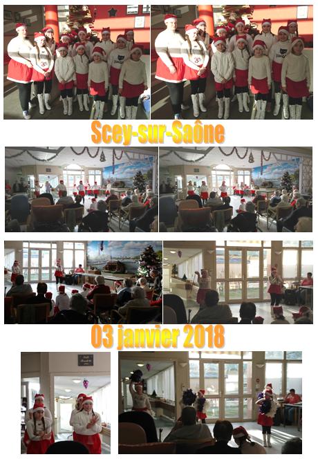 MAISON DE RETRAITE SCEY SUR SAONE 03 JANVIER 2018