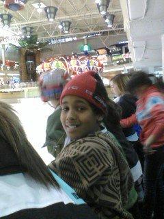 Au patin le 23 janvier 2011