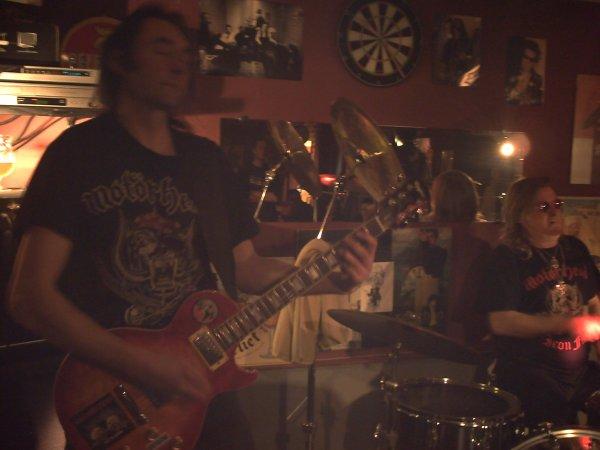"Concert du groupe, "" Bomber "", le 21 Avril, 2012."