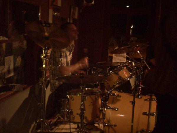 Le batteur, du groupe !