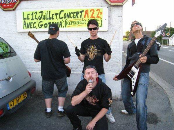 Les Concerts entre 2008 et 2010.