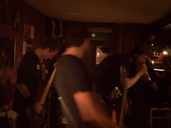 """Concert du groupe, """" Sick and Sad """", le 29 Septembre, 2012."""