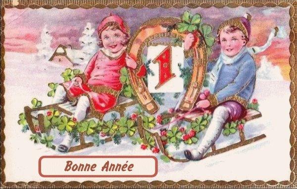 Bonne année à tous!!