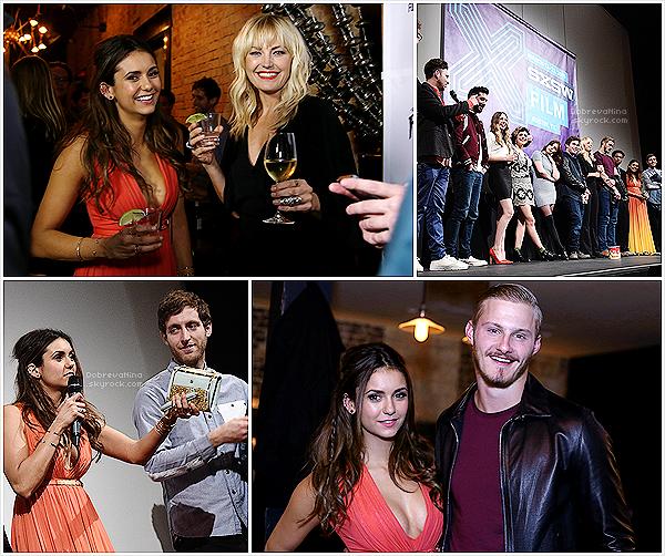 """.   13/03/2015 : Notre belle Nina était à l'avant première du film """"The Final Girls"""" au « SXSW Music, Film Festival » ."""