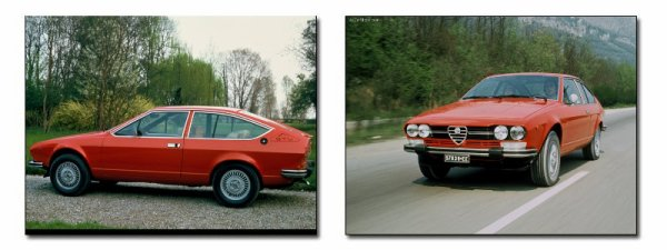 Retrospective : Coupés 2+2 Alfa Romeo