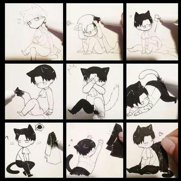 Dans l'atelier de Neko-chan ♥