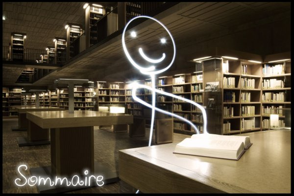 Sommaire ~ Recherche de fiction