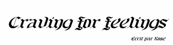 Craving-For-Feelings
