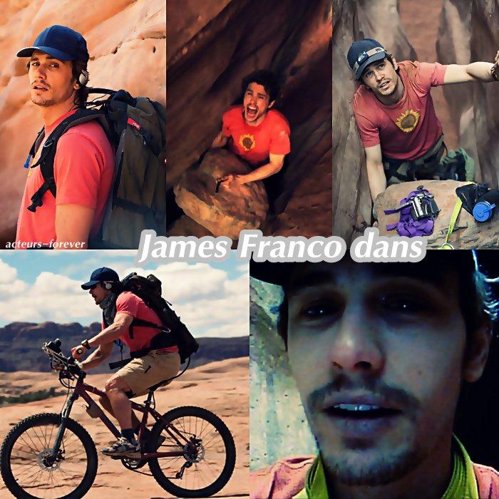 zoom sur 127 heures : avec James Franco