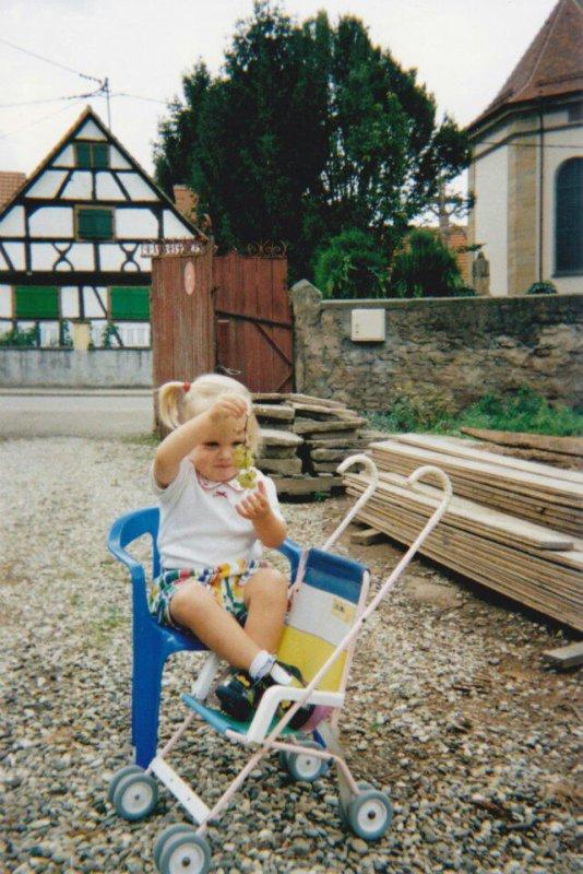 J'étais si petite et si innocente ..