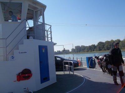 21 septembre-aller retour Matenheim-Bac de SELTZ